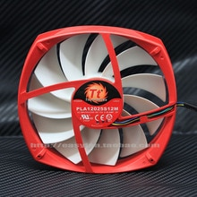 Nouveau pour EVERFLOW Thermaltake TT PLA12025S12M 12CM 4PIN PWM 12V 0.20A 12025 ventilateur de refroidissement