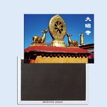Escucha el imán de nevera Jokhang Temple deer China 24469