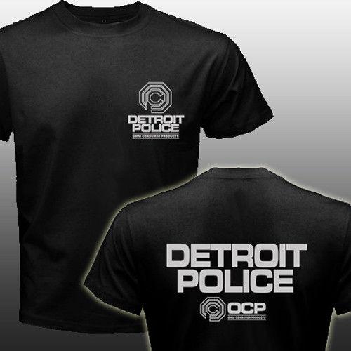 Nouveau Robocop Ocp Logo Detroit Police 2019 mode à manches courtes coton O cou hauts livraison gratuite musculation T-Shirt