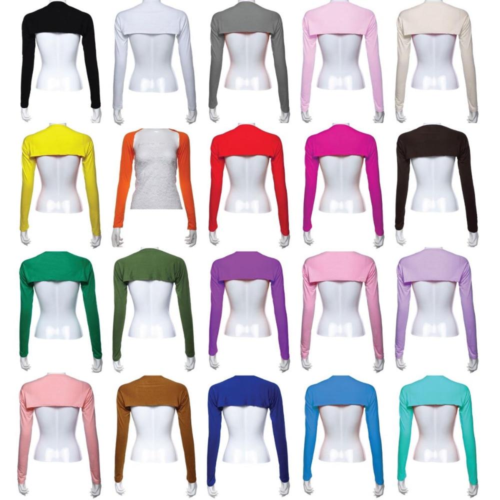 12PCS Stylish Women Hijab Muslim Armer Sleeves Cover Shrug Bolero Hayaa Armer Warmer Oversleeves Stretch 20 Colors Random Color