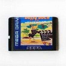 Daffy Duck In Hollywood 16 bits MD carte de jeu pour Sega Mega Drive pour SEGA Genesis