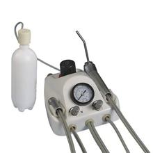 Dental Lab equipment Portable suction unit Dental Portable Turbine Unit with 2 hole or 4 hole