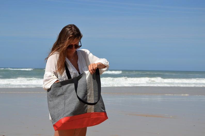 حقيبة يد كبيرة اللون حقيبة نسائية صغيرة حقيبة قطنية بالجملة مخصص أكياس التسوق القماشية حقيبة كتف تخزين الفاكهة