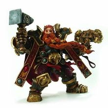 Wow: سلسلة 6: dwarven الملك: ماغني bronzebeard عمل الشكل النموذجي