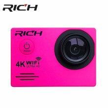 Riche DV7000/SJ7000R caméra daction WiFi Ultra HD 4K sous-marine 30M caméra de Sports de plein air 2.0