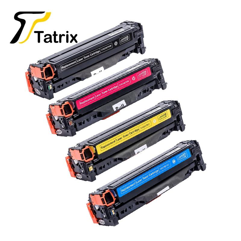 CRG118 CRG318 CRG718 Compatible cartucho de tóner para Canon LBP-7200 7660cdn 8380cdw para HP Color laserJet CM2320 serie MFP