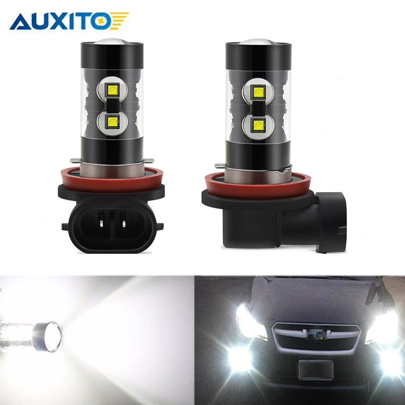 2x CANBUS LED H11 H8 противотуманные лампочки без ошибок автомобильные фары для Audi A1 A3 A4 B6 B8 A5 S5 S6 A6 C6 C7 Q3 Q5 Q7 TT DRL Противотуманные фары