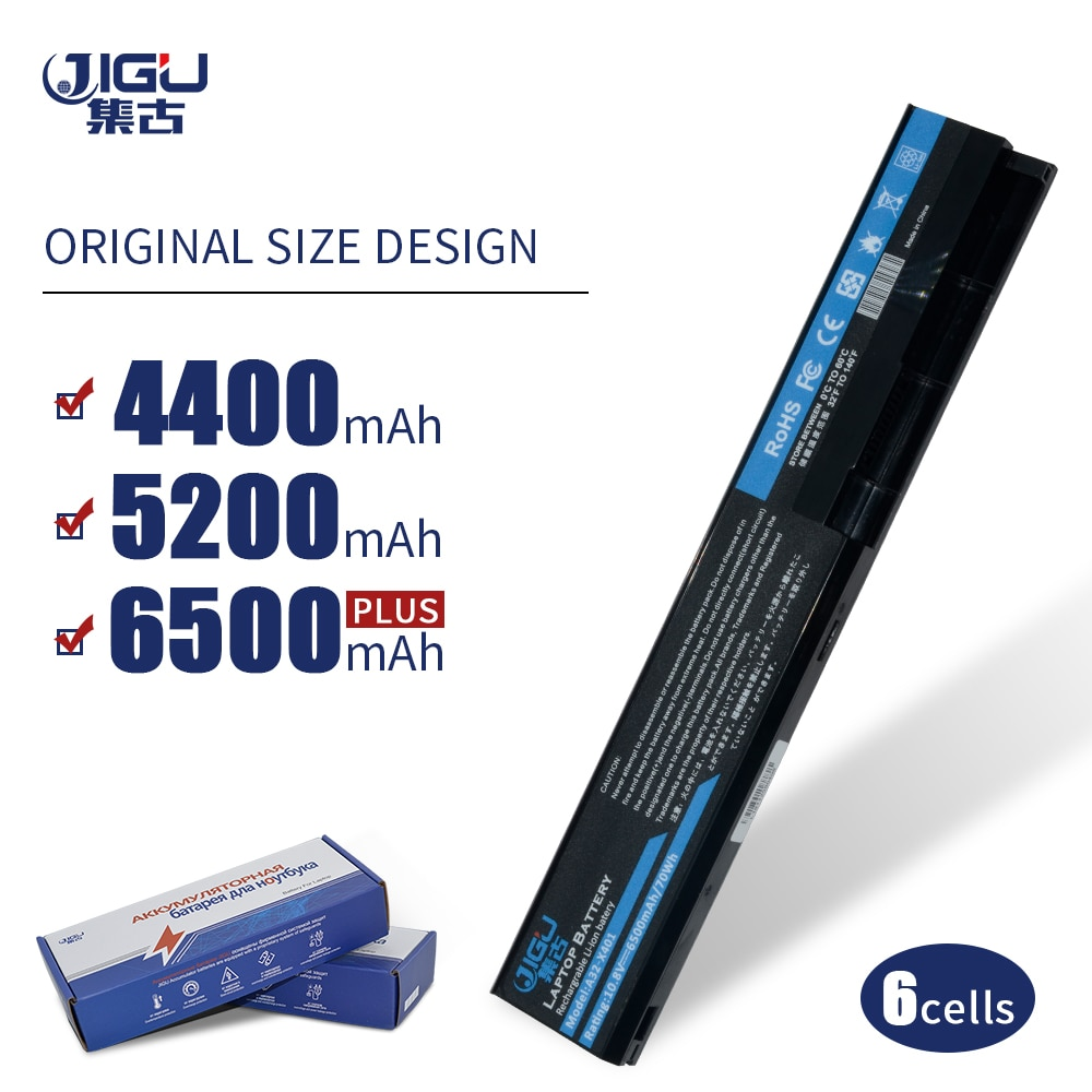 JIGU 6 Cells laptop Battery for Asus A31-X401 A32-X401 A41-X401 A42-X401 X401 X401A X401A1 X401U X501 X501A X501A1 X501U