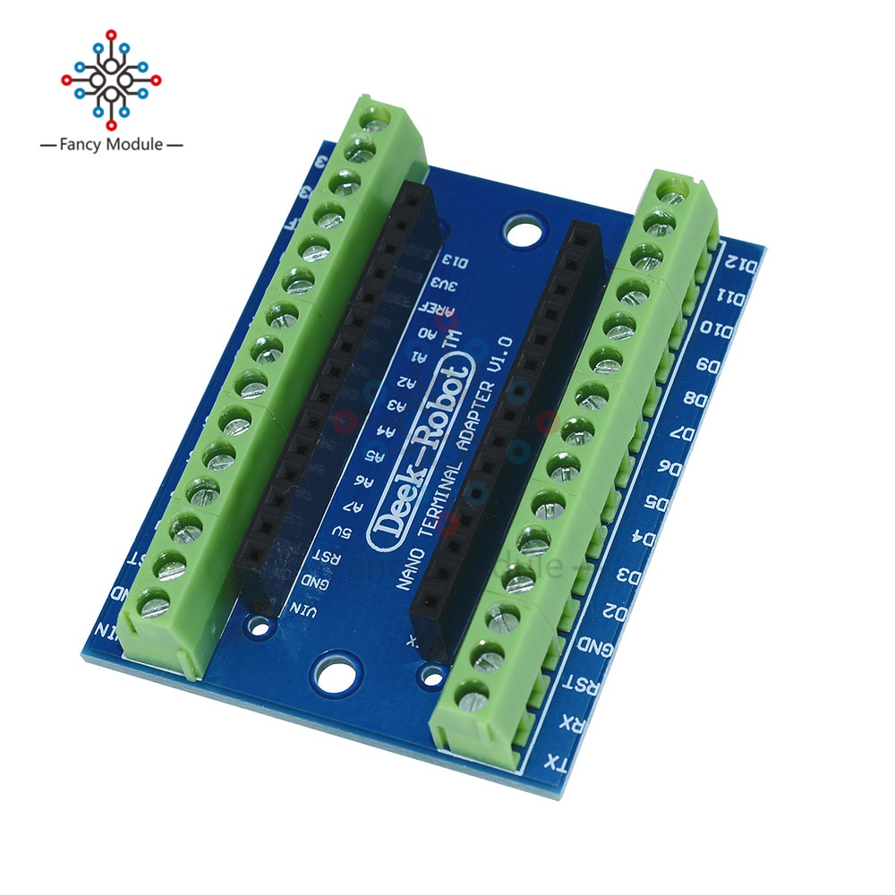 1 stks Standaard Terminal Adapter voor Arduino Nano V3.0 AVR ATMEGA328P ATMEGA328P-AU Module 100% Origineel