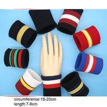 Striped Knit Rib Cuff ,Trim Clothing,Jacket,Coat Cotton Stretch Soft Cuffing Designer DIY Garment Accessories Material 2pcs
