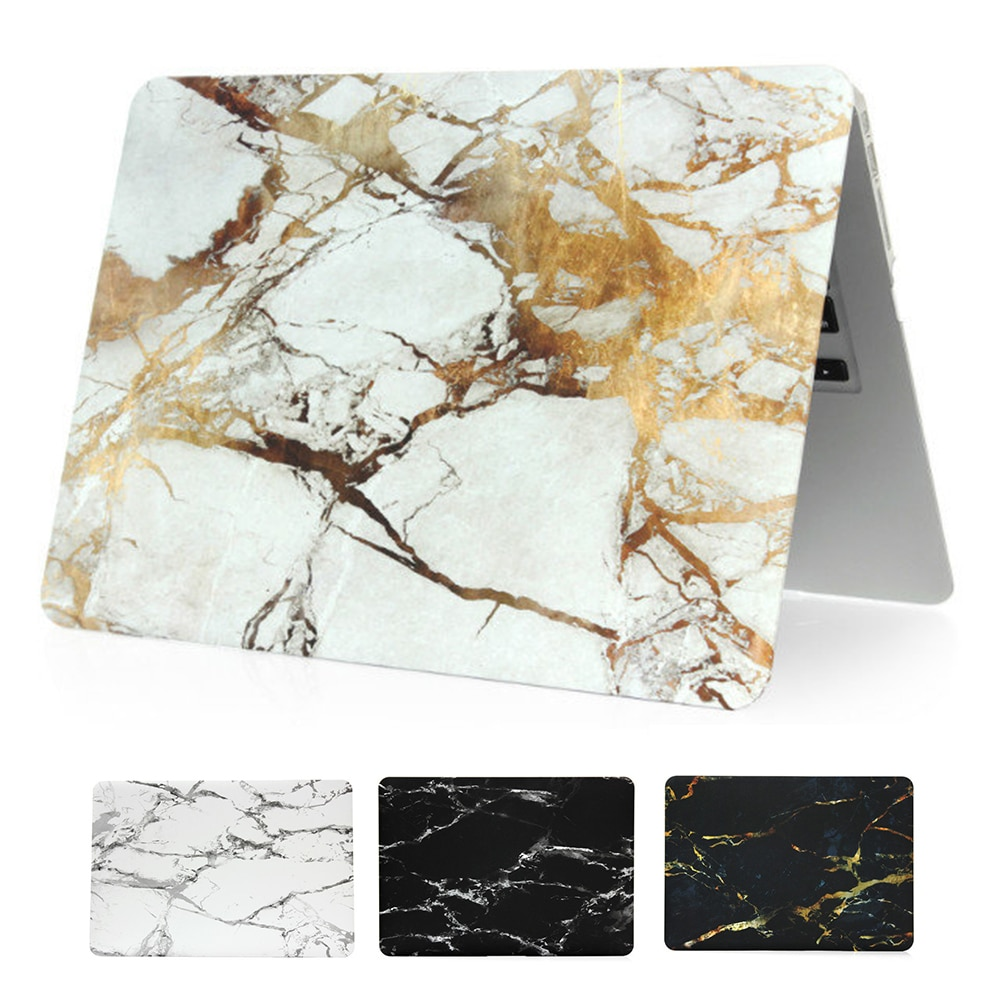 Marble Texture Case For Macbook Air 11 inch A1370 A1465 Hardshell Cover for Macbook air 13 inch A1369 A1466 A1932 Laptop Cases forest case for macbook air 13 a1466 a1369 marble glitter clear laptop cover for macbook air 13 inch a1932 a2179 2018 2020 cases