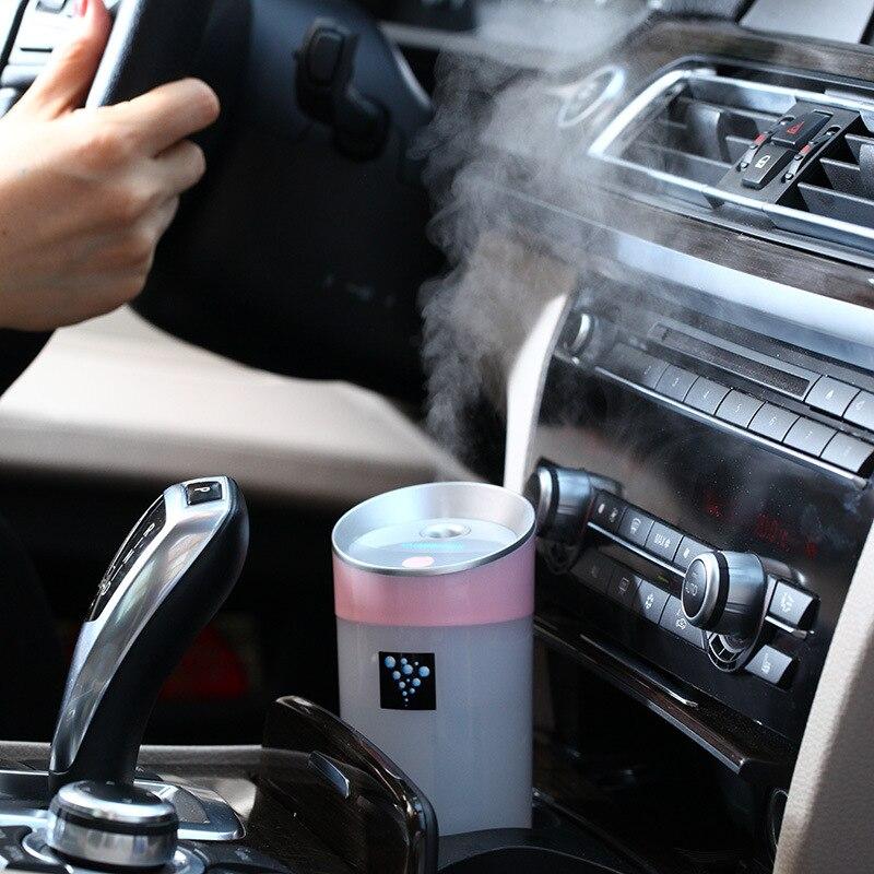 300 ml de Carro USB Umidificador Purificador de Ar Purificador de Aroma de Óleo Essencial Perfume Difusor Névoa Maker para Home Office Car