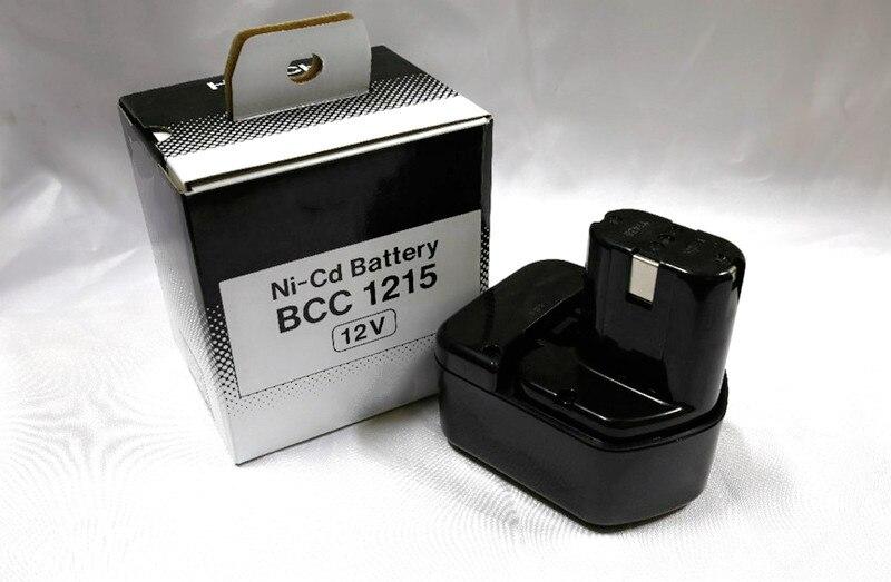 Batería de 12V NI-CD 3500mah para Hitachi EB1220BL EB1214S EB1212S WR12DMR CD4D DH15DV C5D