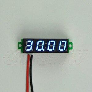 GWUNW BY428V {двухлинейный} 3,5-дюймовый 4-битный микро-Вольтметр постоянного тока 0,28-3,3 В (30 в) тестер напряжения измеритель