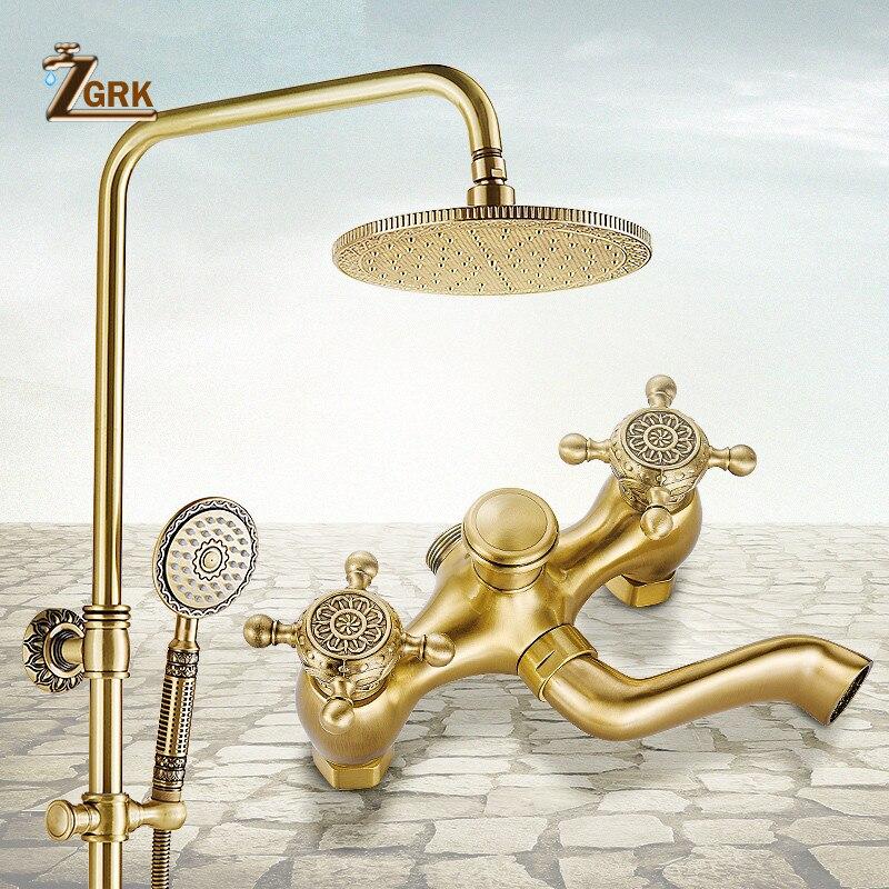 ZGRK-حنفيات دش الحمام ، رأس دش مطري علوي ، نظام دش عتيق ، رافعة سباكة HS970