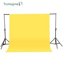 1.6X 3M/5.2X9.8Ft желтый цвет нетканый текстильный муслиновый фон для фотостудии фон для фотосъемки с изображением хромакей