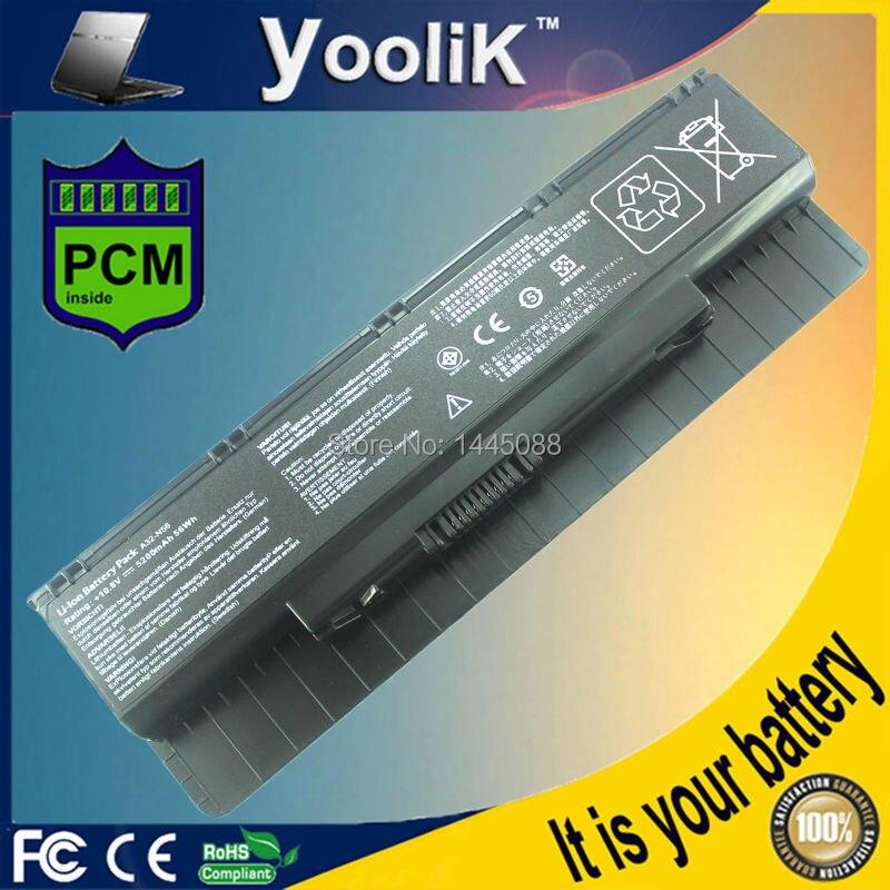 מחשב נייד סוללה עבור Asus A32-N56 N46 N46V N46VM N46VZ N56 N56V N56VJ N56VM N56VZ N76 N76V N76VJ N76VM N76VZ