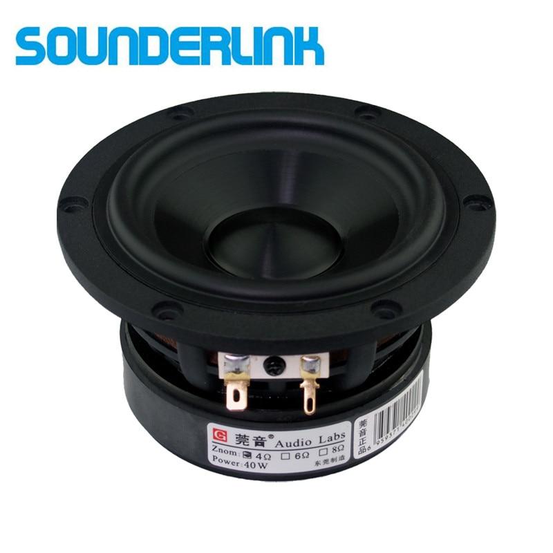 2 teile/los Audio Labs woofer Top ende 4 inch Cast aluminium rahmen Bass subwoofer fahrer wandler lautsprecher mitten Diy monitor