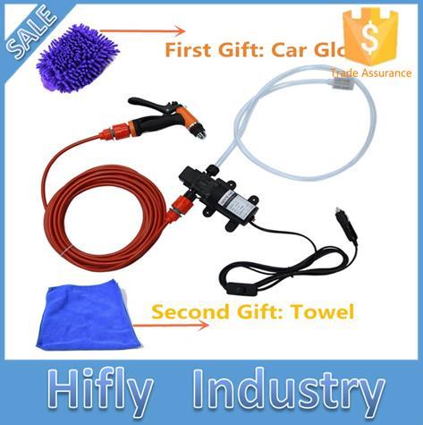 Бесплатная доставка 70 Вт высокого давления самовсасывающий Электрический автомобильный водяной насос 12 В Автомобильная прокладка для сти...