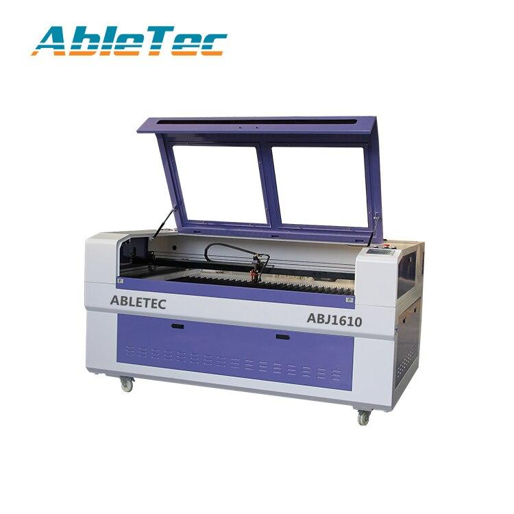 Máquina cortadora de grabado láser de 1600x1000mm/máquina láser de co2 de velocidad rápida con driver leadshine