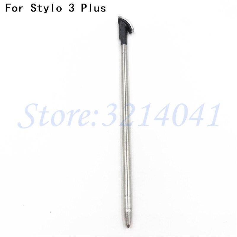 Bolígrafo nuevo Touch Pen Stylus para LG Stylo 3 Plus TP450 MP450 M470F M470/Stylus 3 Plus estilete capacitiva bolígrafo móvil negro