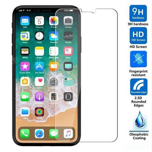 For iPhone 8 Tempered Glass Original 9H Protective Film Explosion-proof LCD Screen Protector For iPh
