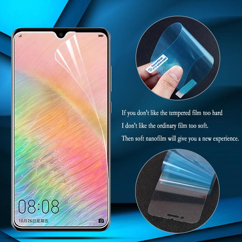 Nano lámina de película a prueba de explosiones para Huawei Y9 2019 Honor 10 lite 8A 8C Protector de pantalla para Huawei Mate 20 Pro X Guard
