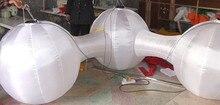 """Durchmesser von jeder ballon ist 1,2 mt aufblasbare """"M"""" ballon mit bunten led-licht im inneren für eventdekoration"""