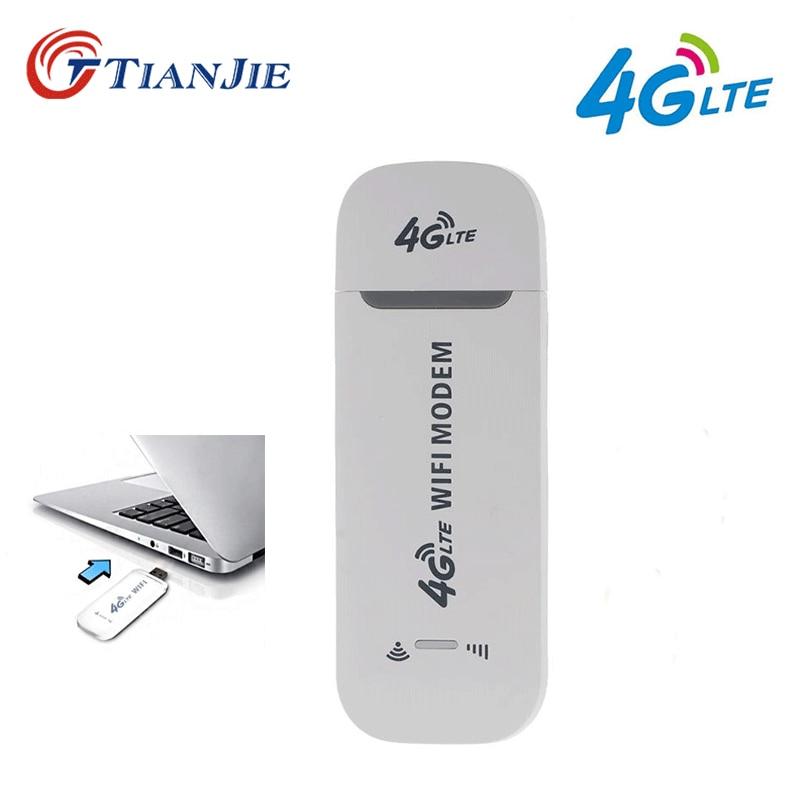 TIANJIE 3G/4G SIM karte Wifi modem Entsperrt USB Router Dongle 4G Wireless lte dongle Auto wifi Hotspot netzwerk adapter router wifi