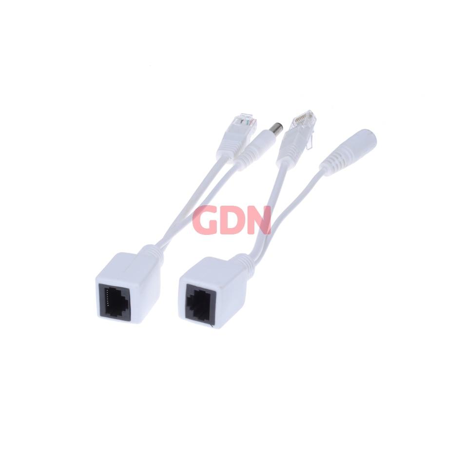 GADINAN 10 stücke (5pairs) POE Adapter Schalter Kabel Abgeschirmt POE Splitter Injektor netzteil 12-48V Synthesizer Trenn Kombinierer