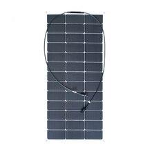 XINPUGUANG nouveau haute efficacité 19.5V 100w panneau solaire Flexible Module de cellules solaires pour 12v système Kit de bricolage RV voiture maison alimenté Batte