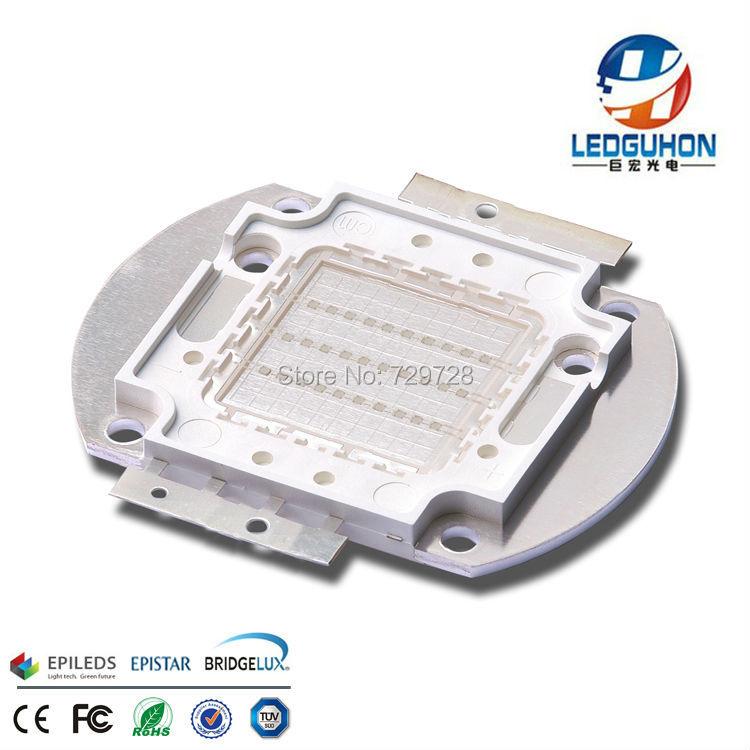 Светодиодная фабричная продажа epileds 45mil chip cob 30 Вт мощный зеленый светодиод high power