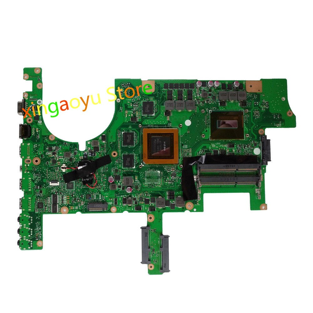 Motherboard Para ASUS ROG G751JT G751 G751J G751JY i7-4710HQ Gaming Mainboard 100% Testado ok