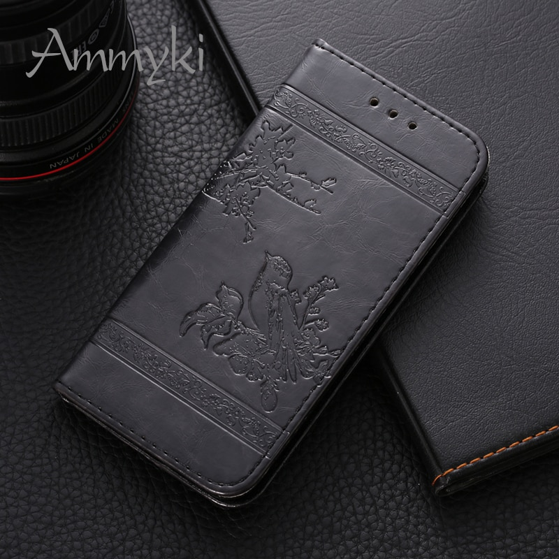 AMMYKI zte 510 cover New style Fragrant floral High taste Fine design flip leather Case back cover 5.0'For zte blade a510 case