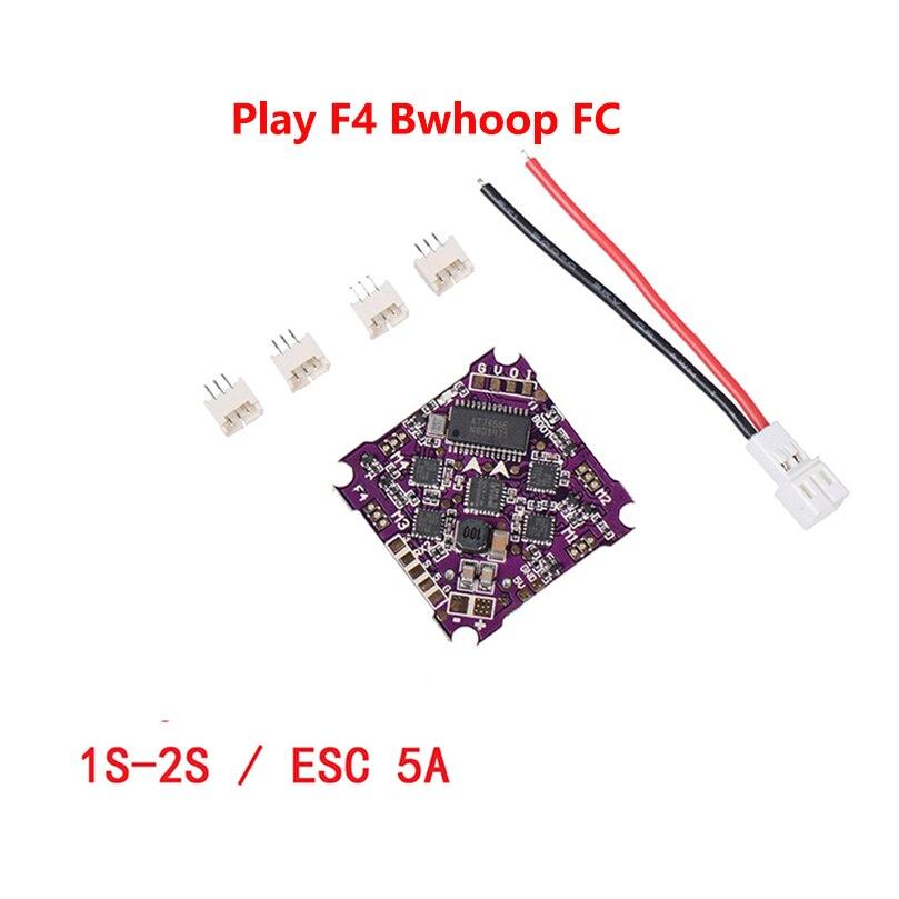 Play F4 BWhoop Flight Controller ، Audio OSD BEC ، 5A BL_S 1-2S 4 في 1 ESC للطائرات بدون طيار RC FPV ، نماذج السباق ، قطع الغيار