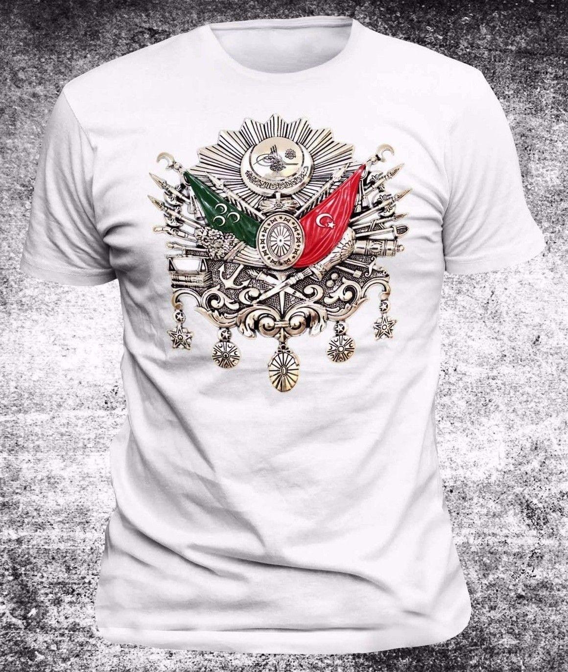 2018 Hot Sale T-Shirt Turkiye,The Ottoman Lieutenant,Istanbul,Turkei T Shirt Summer Style Tee Shirt Harajuku Streetwear