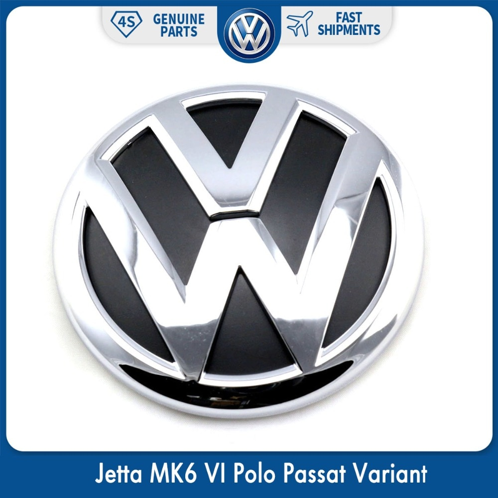 100 мм OEM Задняя Крышка багажника значок эмблема хром логотип стикер автомобиля для Фольксваген Джетта MK6 VI Polo Passat вариант 5C6 853 630 ULM