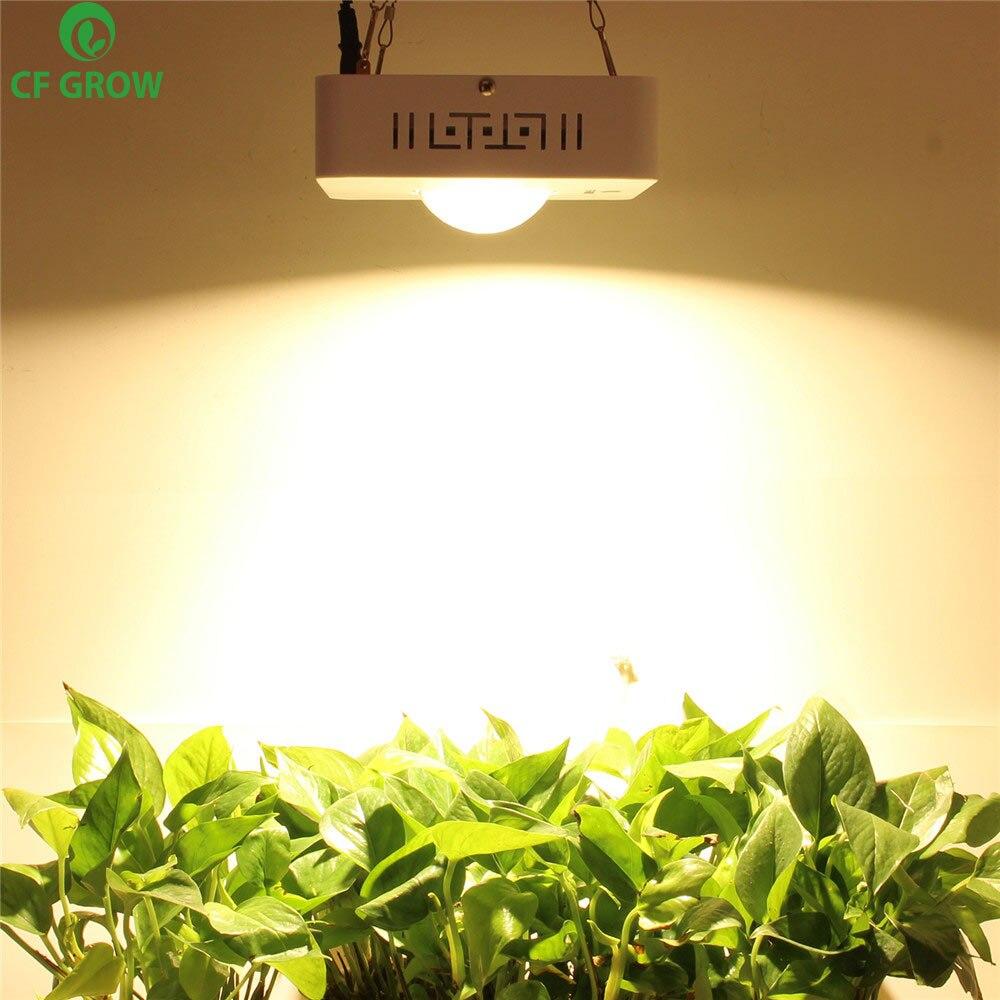 COB LED Grow Light espectro completo CREE CXB3590 100W 12000LM 3500K reemplazar HPS 200W lámpara de crecimiento interior iluminación LED para crecimiento de plantas