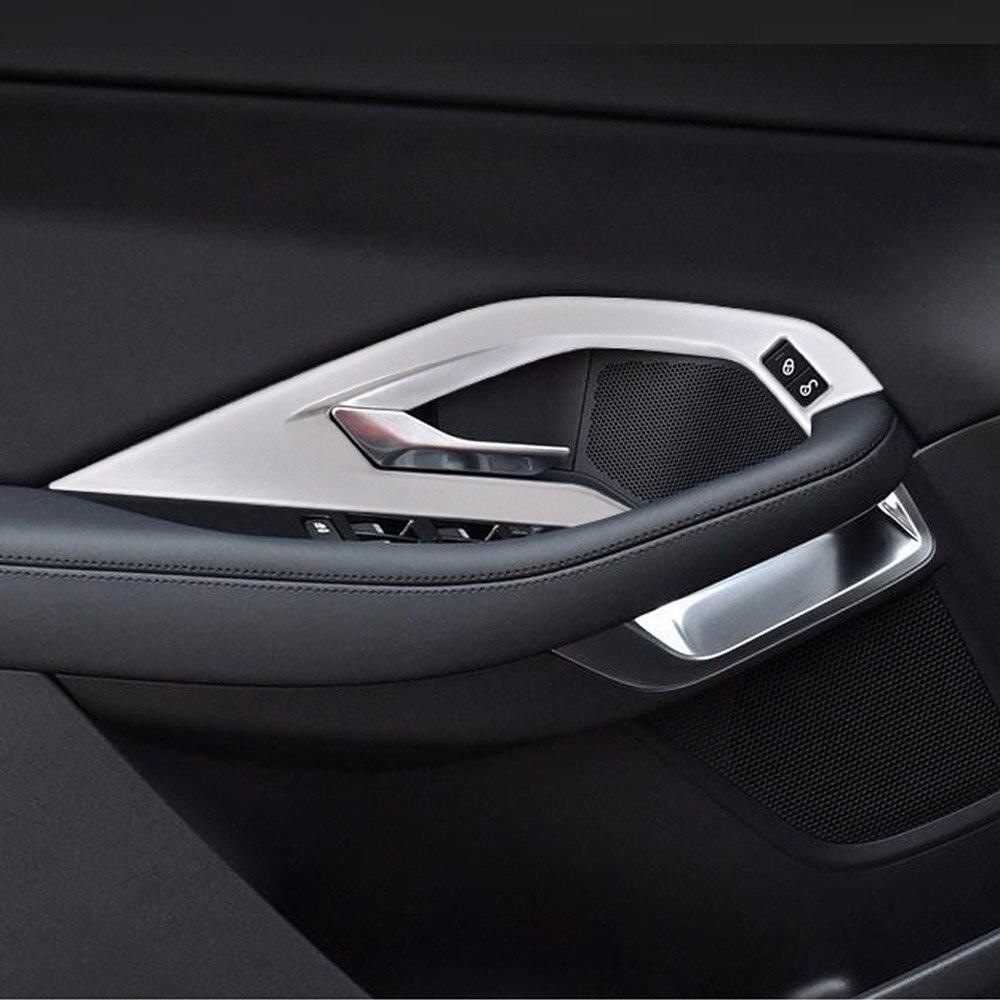 Manija de puerta interior de coche ABS 4 Uds para Jaguar e-pace E Pace 2018 2019 Accesorios