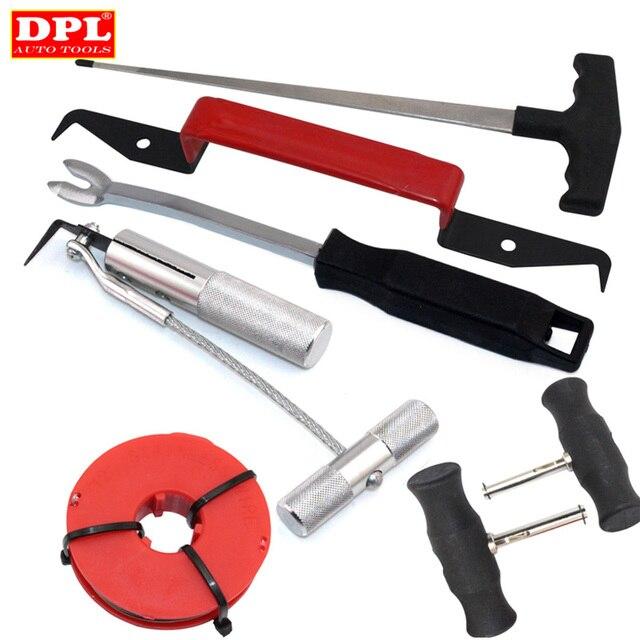 Набор инструментов для удаления ветрового стекла, 7 шт., Автомобильный Ручной инструмент для удаления ветра и стекла