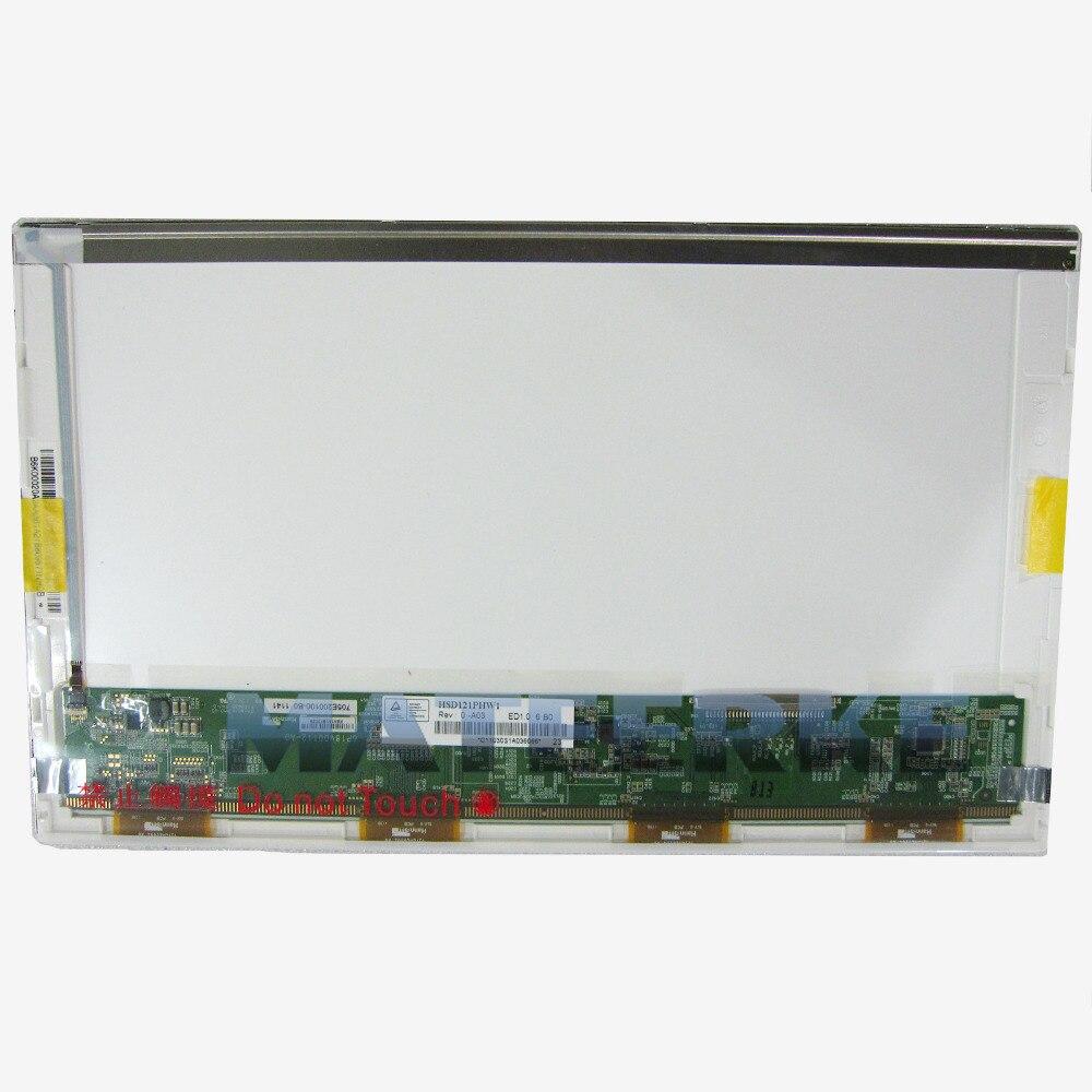 "Envío Gratis 12,1 ""1366x768 pantalla LED para HANNSTAR HSD121PHW1-A01 A03 LCD del ordenador portátil"