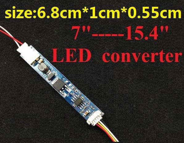Convertidor LED de 3 unids/lote con cable para portátil de 7