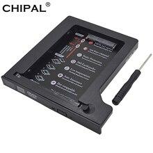 "CHIPAL 4 canales Universal 2nd HDD Caddy 12,7mm SATA 3,0 de doble LED indicador para 2,5 ""Cubierta para SSD y HDD carcasa portátil CD / DVD-ROM"