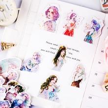 51pcs dream wedding girl sticker, Book diary photo album notebook diy stickers