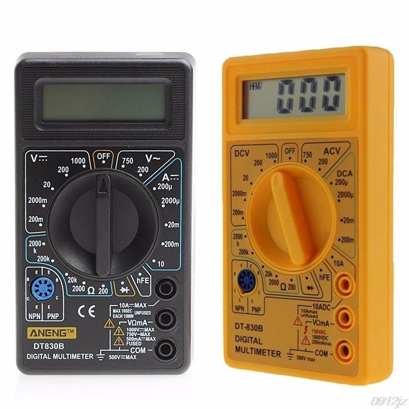 Multímetro de DT-830B LCD de rango automático voltímetro Digital ohmímetro voltímetro nueva herramienta