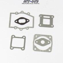 2 ensembles/pack pièces de Kit de joint de moteur de Moto pour 2 temps 47cc 49cc MiniMoto Mini poche de saleté ATV Quad Moto Moto