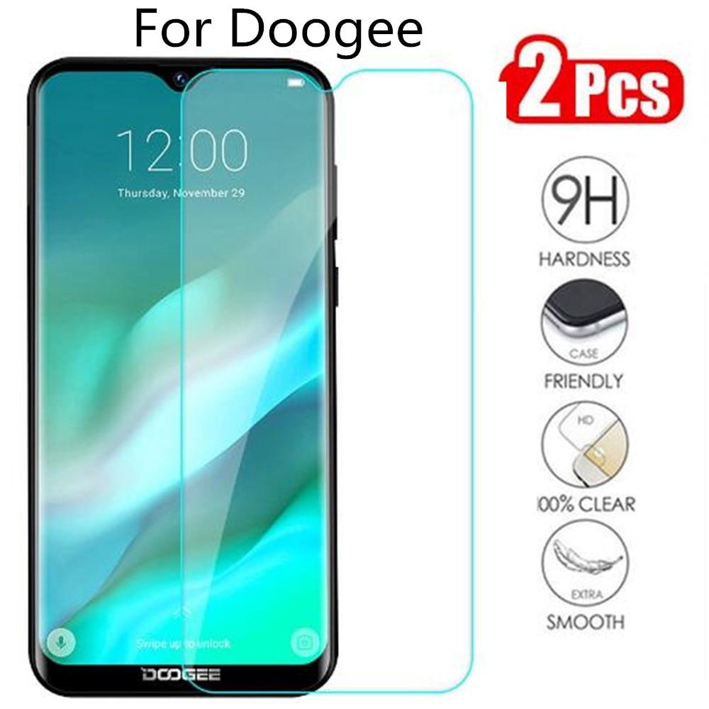 2 шт закаленное стекло Для Doogee S55 S60 S70 X11 N10 Y8 Y8C Защита экрана для Doogee X90 S90 Y7 защитное стекло