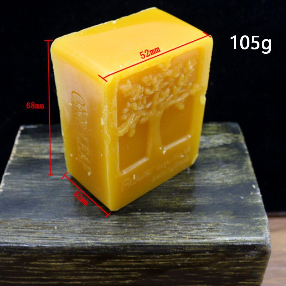 100% Organic Natural Pure Beeswax 45G Ballina Honey Wax Bee Cosmetic Maintenance Protect Wood Furniture