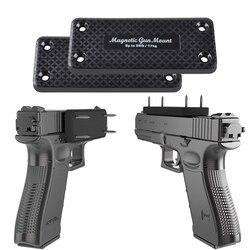 36LBS Pistola Rifle Arma Coldre Titular Do Ímã Magnético Casa Segura Do Carro Escondido Debaixo Da Mesa Frete Grátis Carga Detentores de Armas de Caça