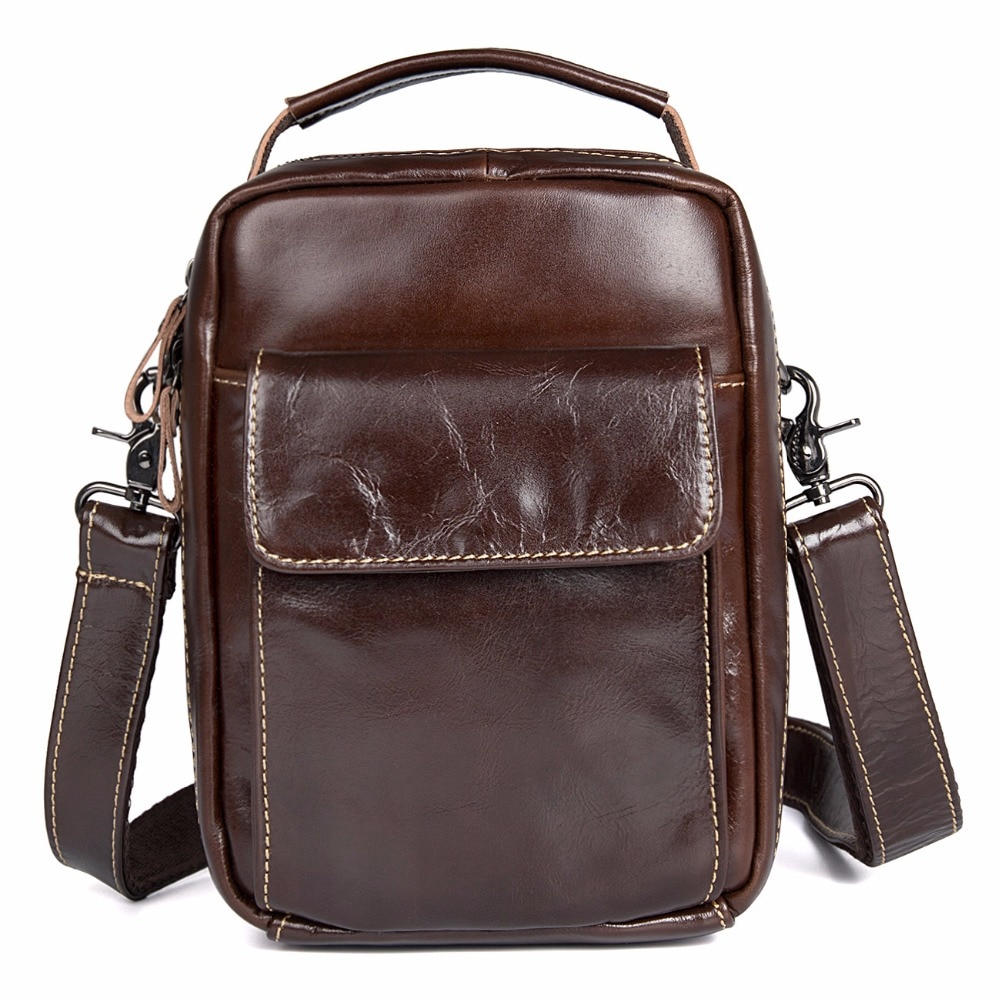 JMD Top Grade Cow Leather Sling Bag Trendy Messenger Bag Cross Body Fashional Shoulder Bags Fits Wallets And Cell Phone 1027C